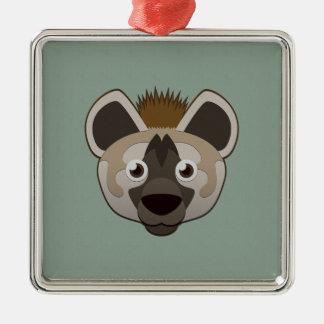 Paper Hyena Metal Ornament
