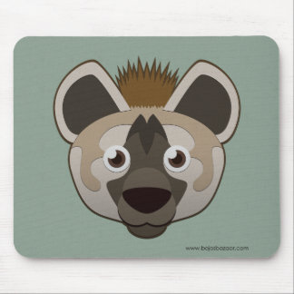 Paper Hyena Mouse Pad