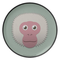 Paper Japanese Macaque Plate