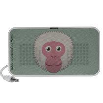 Paper Japanese Macaque Doodle Speaker