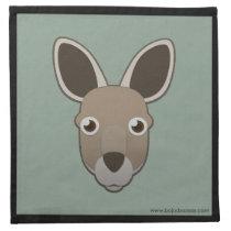 Paper Kangaroo Napkins (4x)
