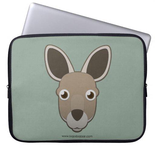 Paper Kangaroo Laptop Computer Sleeves