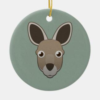 Paper Kangaroo Ornaments