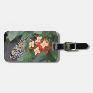 Paper Kite Butterfly Luggage Tag