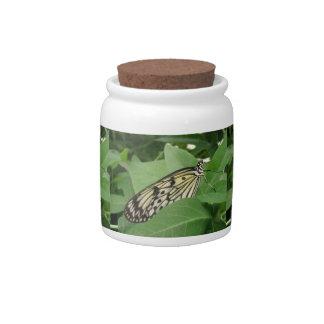 Paper Kite Butterfly Macro Candy Jar