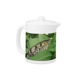 Paper Kite Butterfly Macro Teapot