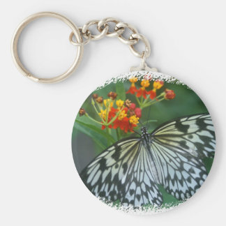 Paper Kite on Flower Keychain