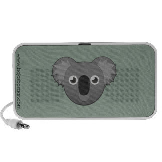 Paper Koala Notebook Speakers