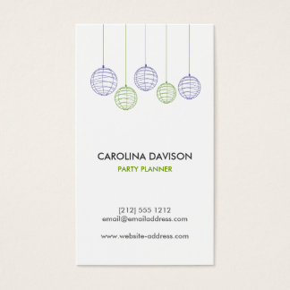 PAPER LANTERNS Business Card