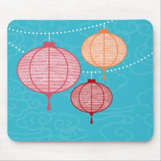Paper Lanterns Mousepad