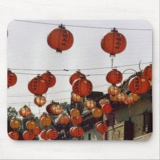 Paper Lanterns Mouse Pad