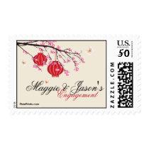 Paper Lanterns Postage Stamp