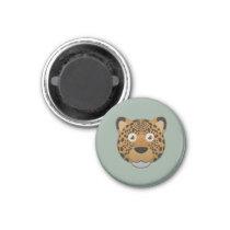 Paper Leopard Magnet