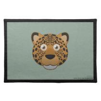 Paper Leopard Placemat