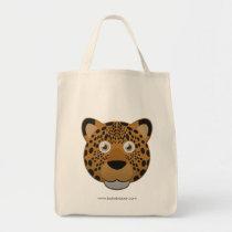 Paper Leopard Tote Bag