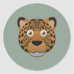Paper Leopard Stickers
