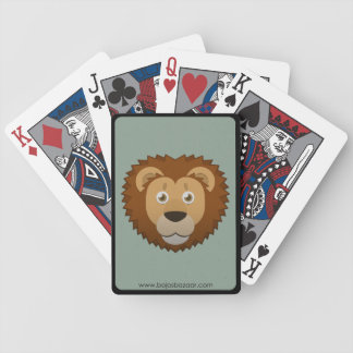 Paper Lion Bicycle Playing Cards
