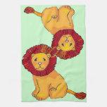 Paper Lion Hand Towels