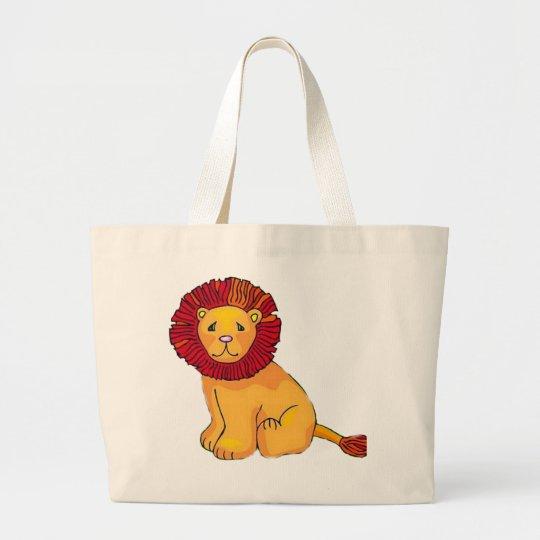 Paper Lion Large Tote Bag