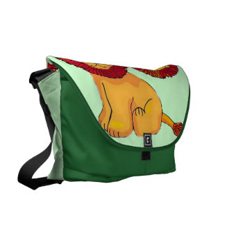 Paper Lion Messenger Bag