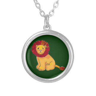 Paper Lion Silver Plated Necklace