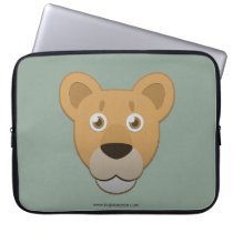 Paper Lioness Laptop Sleeve