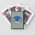 Paper Little Penguin Bicycle Playing Cards
