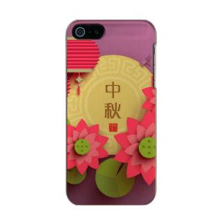 Paper Lotus. Main: Mid Autumn Festival Metallic iPhone SE/5/5s Case