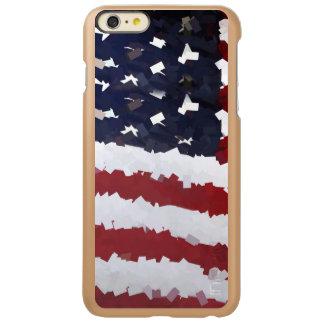 Paper Mache American Flag Incipio Feather® Shine iPhone 6 Plus Case