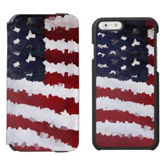 Paper Mache American Flag Incipio Watson™ iPhone 6 Wallet Case