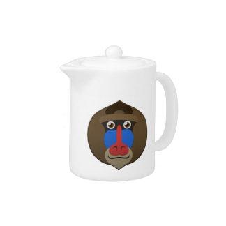 Paper Mandrill Teapot