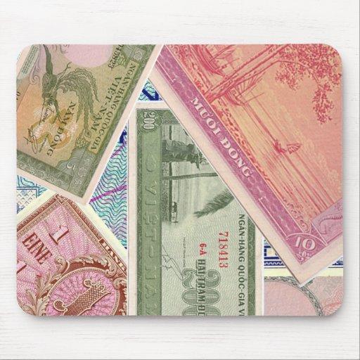 Paper Money Mouse Pad