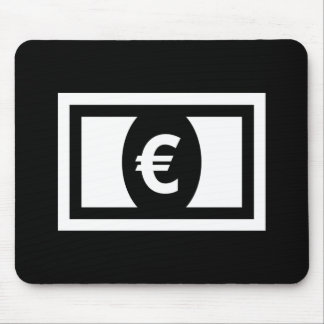 Paper Money Pictogram Mousepad