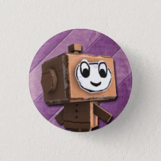 Paper Monsters Rock and Roll Button