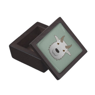 Paper Mountain Goat Gift Box