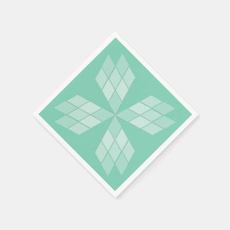 Paper Napkin - Diamond Petals