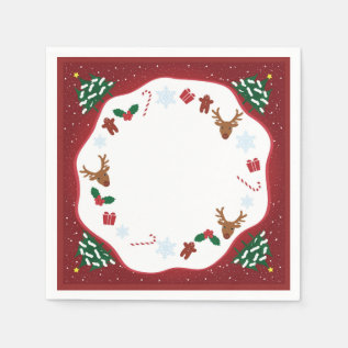 Paper Napkin For Christmas at Zazzle