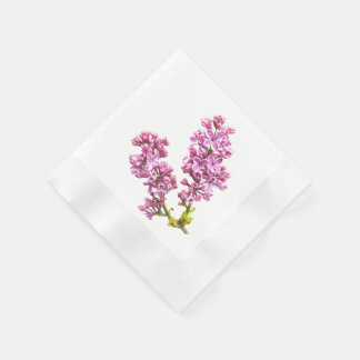 Paper Napkin - Lilac Blossoms