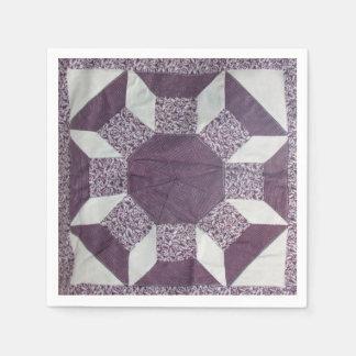 Paper Napkin - Spools of Thread Pattern