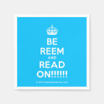 [Crown] be reem and read on!!!!!!  Paper Napkins