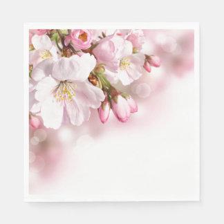 Paper Napkins-Cherry Blossoms Paper Napkin