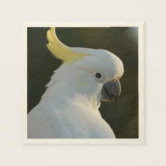 Paper-napkins cockatoo paper napkin
