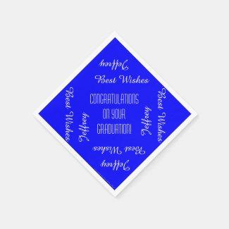 Paper Napkins, Graduation Party Repeating Names