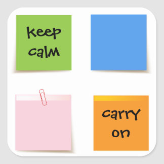 Paper Notes Sticker
