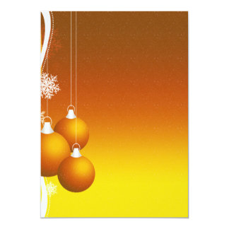 """Paper of letter """"Balls of Christmas """" Card"""