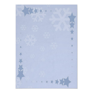 """Paper of letter """"Stars """" Card"""