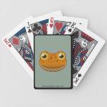 Paper Orange Frog Bicycle Playing Cards
