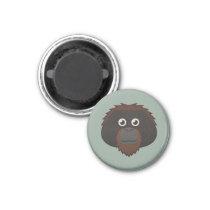 Paper Orangutan Magnet