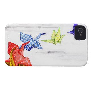 Paper Origami Cranes iPhone 4 Case-Mate Case