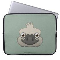 Paper Ostrich Laptop Sleeve